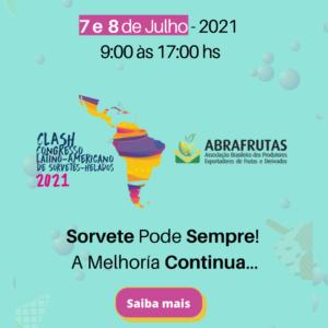 CLASH 2021- CONGRESSO LATINO AMERICANO DE SORVETES HELADOS 2021